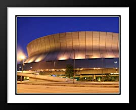 Louisiana Superdome, New Orleans Large 20x23 Framed and Double Matted Photo