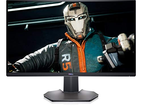 Dell S-Series 27-inch QHD 165Hz; 16:9; 1ms Response time; HDMI 2.0; DP 1.2; FreeSync G-Sync Compatible; Height Adjust, Tilt, Swivel & Pivot; HDR IPS LED Gaming Monitor (S2721DGF)
