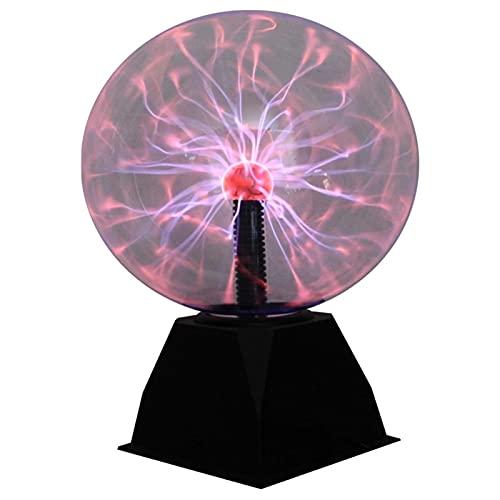 ZJIN Niños Toque Plasma electrostático inducción relámpago Bola Luminosa lámpara mágica Luminosa electrónica 1