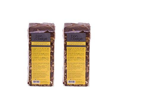 Duopack Gesunde Belgische Honigkuchen mit Perlzucker 100% natürliches Produkt 2*250g folgen Familienrezept mit Honig