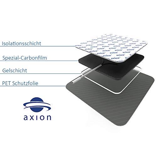VORRATSPACK: 40 x Elektroden-Pads, selbstklebend, 4x4cm. Für TENS, EMS und Reizstromgerät - 6