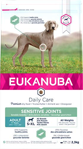 Eukanuba Croquettes Adulte Daily Care Articulations Sensibles Sac 2,3 kg