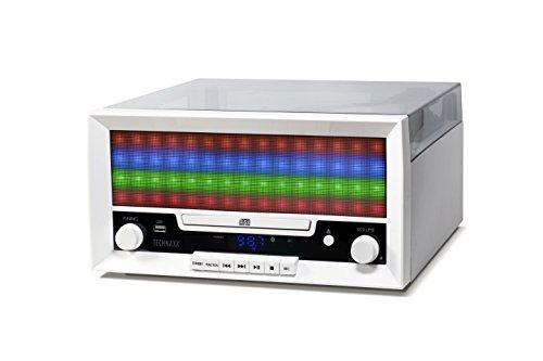 Technaxx 4704 Bluetooth LED CD-Digitalisierer TX-94, Digitalisieren von FM-Radio weiß