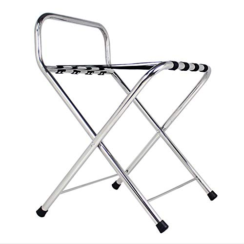 Why Should You Buy PengAnGuo Foldable and Easy to Store Multi-Function Luggage Rack Rugged Stainless...