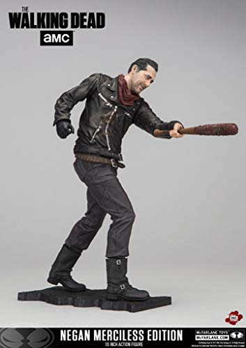 McFarlane- The Walking Dead Figura Negan w/Lucille, Multicolor, Estándar (13056-0)