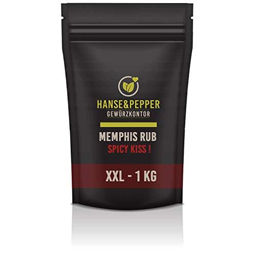 1kg Tennessee Memphis Rub Barbecue Grill Rind Schwein Geflügel Rub Sehr Aromatisch Spitzenqualität - Taste Line Serie
