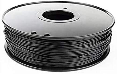 XHCP nylon filament 1.75mm 3mm choice 3d nylon black white Natural color 3d filament nylon PA 1 kg 3d filamento Color : Black Nylon