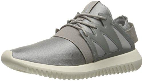 adidas Originals Damen Tubular VIRAL W, Metallic-Silberschlitten/Clear Granit/Kern Weiß, 36.5 EU