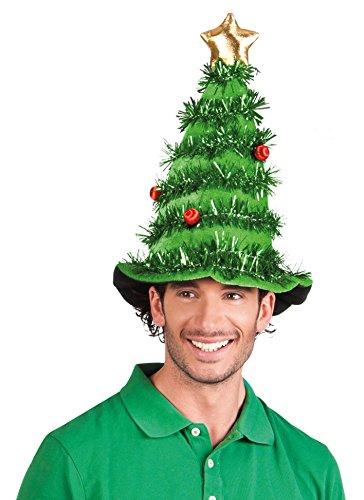 Boland 13406 - Erwachsenenhut Weihnachtsbaum, Einheitsgröße, grün