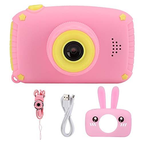 Draagbare kinderen digitale camera roze kind camera 12MP 32G 2.0-inch HD-kleurenscherm speelgoed voor kind cadeau