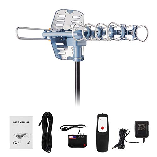 Amplified HD Digital Outdoor TV Antenna 150 Miles Range - Support 4K 1080p HD TV and All Older TV