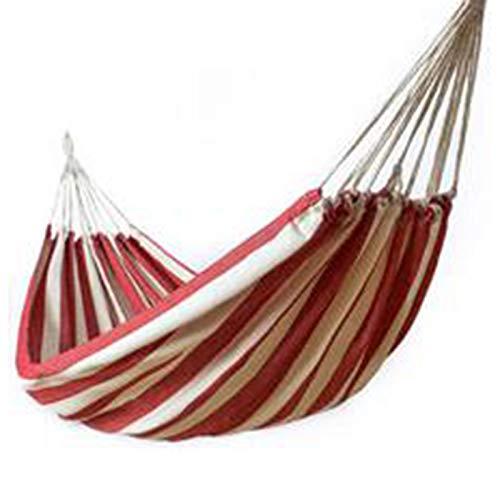 bobotron Thicken Canvas Hammock Swing Outdoor Single Double People Dormitory Camping Hammocks Red