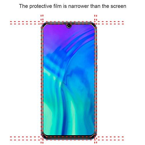 Widamin 2Pack, Panzerglas Schutzfolie für Honor 20 Lite, Displayschutzfolie, Hohe Auflösung Glas, [9H Härte], [Crystal Clearity], [No-Bubble] Compatible für Huawei Honor 20 Lite - 2