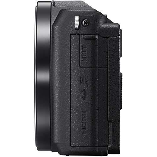 ソニーミラーレス一眼α5100パワーズームレンズキットEPZ16-50mmF3.5-5.6OSS付属ブラックILCE-5100L-B