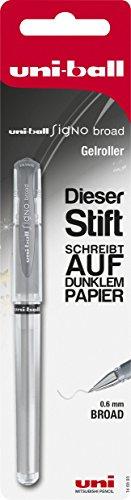 Faber-Castell 146893 - Bolígrafo de tinta gel, plateado