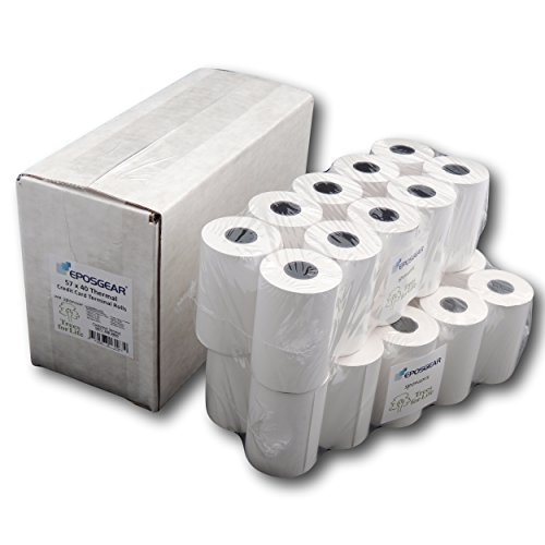 57 x 38 Thermal Credit Card Machine Till Roll Receipt Paper 3 Box 60 Rolls 57 x 38 x 12.7mm Core 57x40 Fit Ingenico IWL228