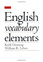 English Vocabulary Elements