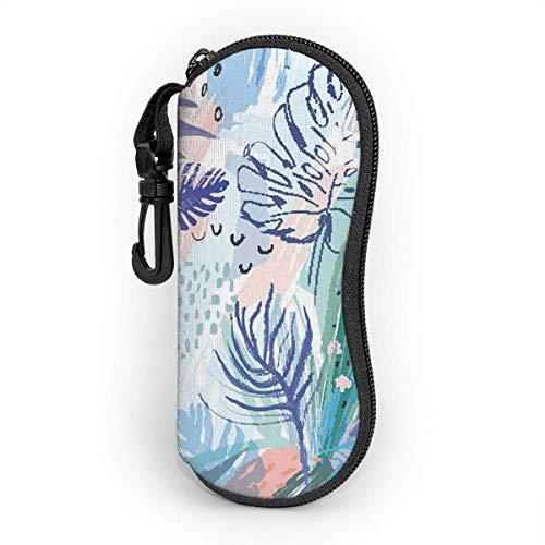Funda de neopreno con cierre de clip para cinturón, portátil con cremallera, ultraligera, flexible, para niñas, mujeres y hombres