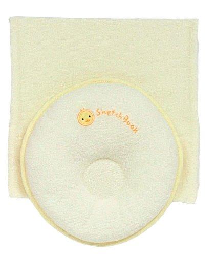 西川産業 babypuff ドーナツ枕(小) クリーム 綿100% LMF1301301