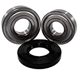 Front Load Bearings Washer Tub Bearing and Seal Kit with Nachi bearings and fits Samsung Tub DC97-12957A (5 year replacement warranty and links to full HD'How To' videos)