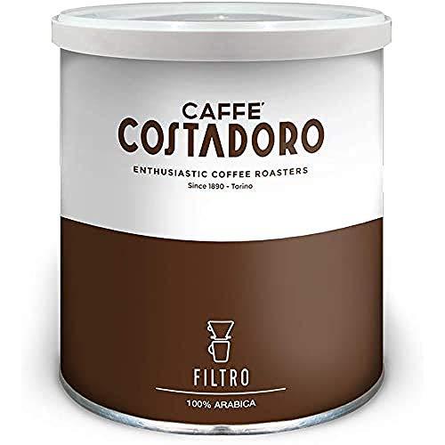 Caffè Costadoro - Costadoro 100% Arabica per FIltro - Lattina da 250g