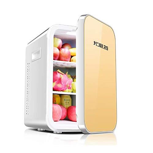 WEIFAN-1 22L Petit réfrigérateur de Voiture Porte Simple Mini congélateur (Smart/Or)
