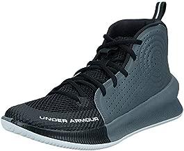 Under Armour Men's Jet 2019 Basketball Shoe Running, Black (001)/Pitch Gray, 10