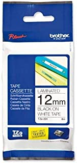 Brother TZ-e231 P-Touch 12mm Laminated Tape - Black on White