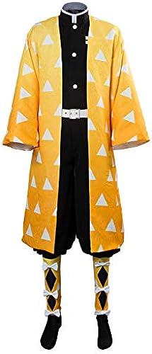 MingoTor Blade of Demon Destruction Agatsuma Zenitsu Outfit Cosplay Kostüm Ma fertigung