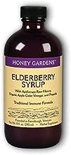 Apitherapy Elderberry Extract Honey Gardens 8 oz Liquid