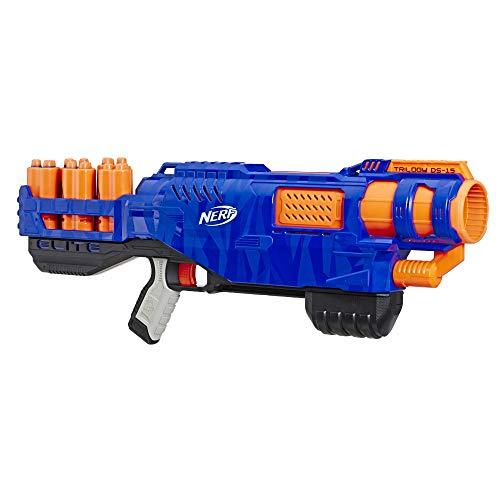 Trilogy DS-15 Nerf N-Strike Elite Spielzeug Blaster mit 15 Nerf Elite Darts und 5 Hülsen – Für Kinder, Teenager, Erwachsene, E2853EU4