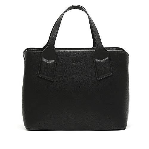 MISAKO Bolso Mediano de Mujer PACHITO | Bolso Casual de moda para el día a día | Bolso de hombro y Bandolera Semi Rígido | Doble compartimento Cremallera - 21x25x12cm