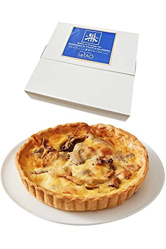 LeTAO ( ルタオ ) とかちマッシュと舞茸のチーズキッシュ 1個(直径約14cm)