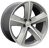 OE Wheels LLC 20 inch Rim Fits Dodge Challenger SRT Wheel DG05 20x9 Silver Wheel Hollander 2357