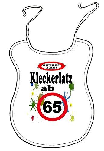 Kleckerlatz Scherz-Latz für Erwachsene ab 65