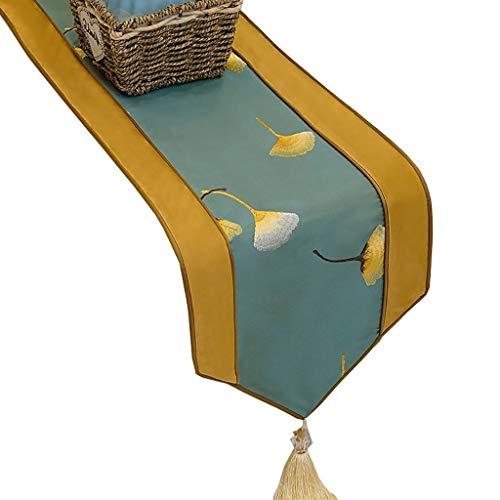 Camino de Mesa Corredores de Mesa para Mesa de Comedor, Mueble para TV, Mesa de Centro, gabinete para Zapatos, Uso Diario, Mesa (Color : B, tamano : 30×180cm)