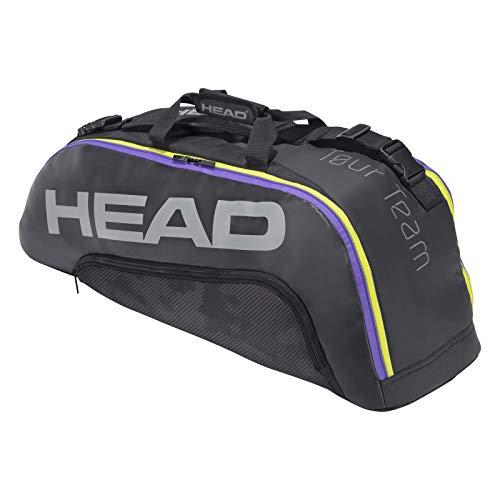 Head Tour Team 6r Combi Bolsa de Tenis, Unisex, BKMX, Talla única