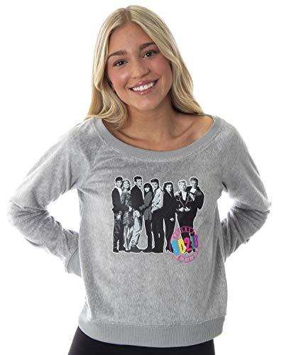 Beverly Hills 90210 Retro 90's TV Womens Juniors' Comfy Pajama Lounge Top Shirt (SM)