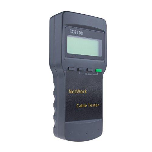 Greenbang LCD Wireless Netzwerk Tester, Portable SC8108 RJ45 Netzwerk LAN Länge Telefonkabel Standort Tester Meter messen