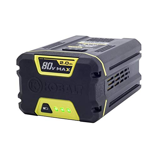 Kobalt 80-volt Max 2-Amp Hours Rechargeable Lithium Ion Cordless Power Equipment Battery KB 280-06