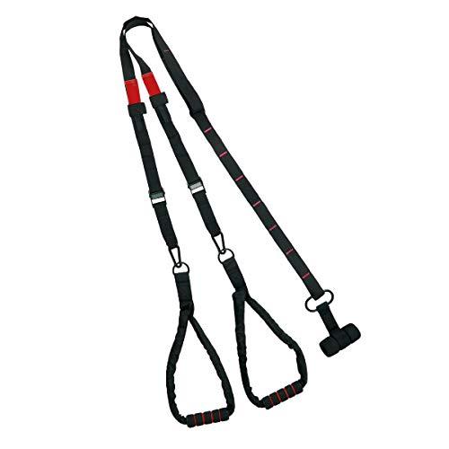 Topfit Multifunktionaler Schlingentrainer Schlingentraining Set mit Türanker für Ganzkörpertraining Sling Trainer