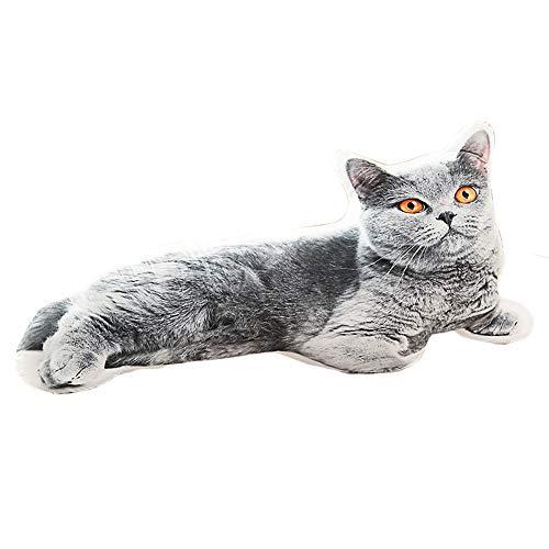 russian blue cat stuffed animal - 5
