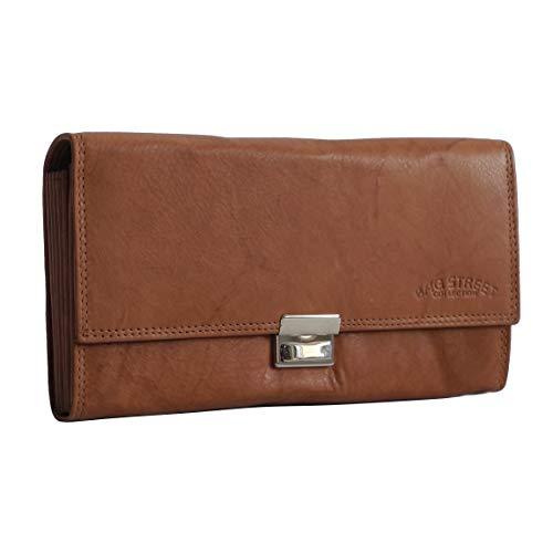Bag Street - dieses Angebot wird - präsentiert von ZMOKA - Cartera para Hombre Amarillo marrón