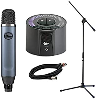 iZotope Spire Studio & Blue Ember Condenser Microphone w/mic Stand and Microphone Cable