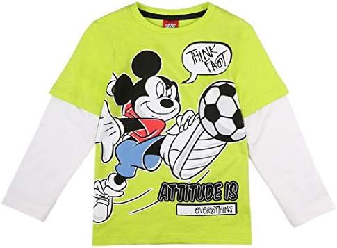 Niños Mickey Mouse Camiseta, Verde