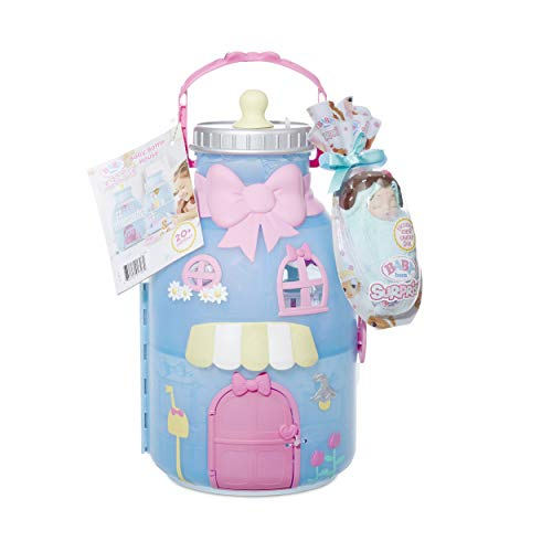 Baby Born Surprise Baby Bottle House with 20+ Surprises, Multicolor