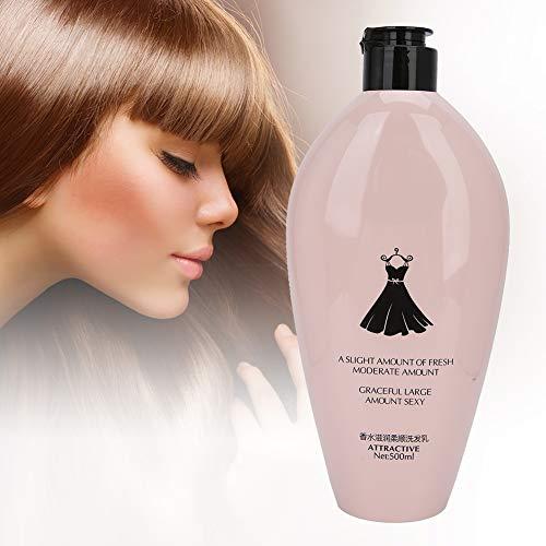 Shampoo, 500 ml hipoalergénica y Nutriente Fortalecimiento Fragancias de pelo champú de aceite de control de champú Champú cuidado del cabello para aumentar el brillo y aumentar la suavidad