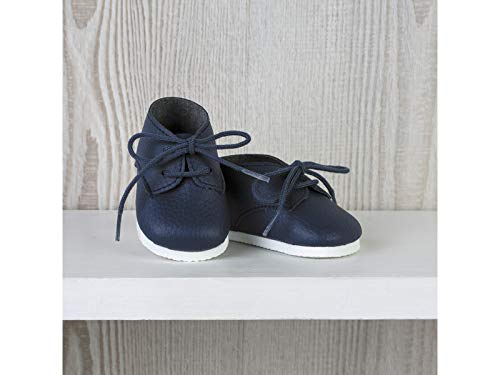 ASIVIL Zapatos Marino con Cordones Muñeca 43-46 cm 5361606