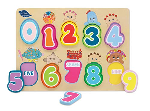 IN THE NIGHT GARDEN 1093 Wooden Number Puzzle