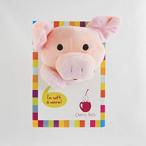 Inatura - CB Cochon - Doudou Chauffant - Cherry Belly - Cochon